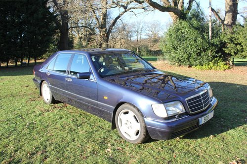 1996 Classic Mercedes W140/V140, S Class Limo For Sale | Car And Classic