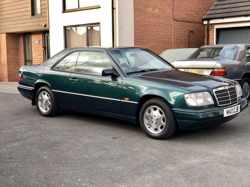 1995 Mercedes E220 Coupe 1 P/Owner Massive History File For Sale (picture 1 of 6)