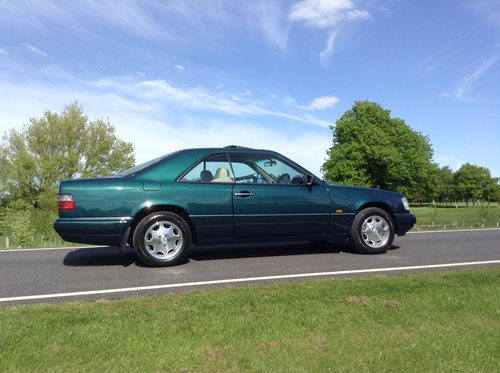 1995 Mercedes E220 Coupe 1 P/Owner Massive History File For Sale (picture 2 of 6)