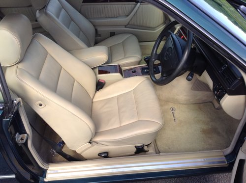 1995 Mercedes E220 Coupe 1 P/Owner Massive History File For Sale (picture 5 of 6)
