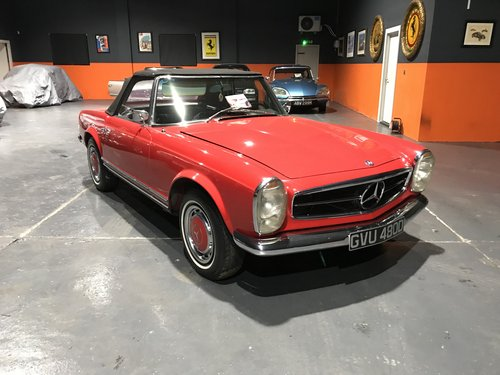 1966 MERCEDES 230SL PAGODA *46000*MILES For Sale (picture 1 of 6)