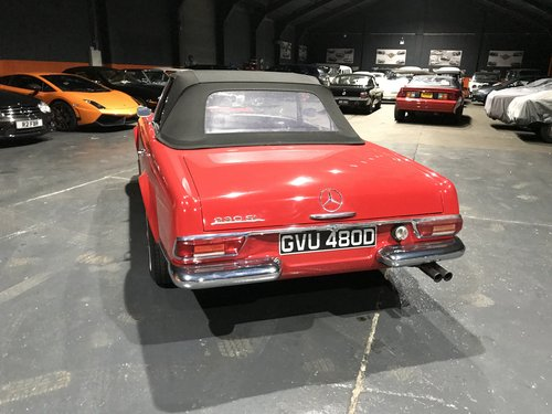 1966 MERCEDES 230SL PAGODA *46000*MILES For Sale (picture 3 of 6)