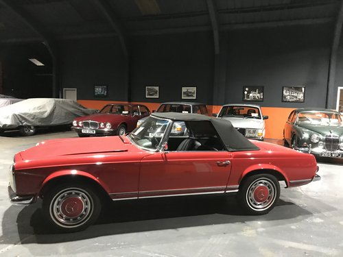 1966 MERCEDES 230SL PAGODA *46000*MILES For Sale (picture 4 of 6)