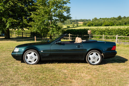 2001 Mercedes Benz SL320 Designo in Allanite Green For Sale (picture 2 of 6)