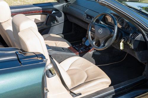 2001 Mercedes Benz SL320 Designo in Allanite Green For Sale (picture 5 of 6)