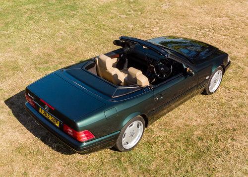 2001 Mercedes Benz SL320 Designo in Allanite Green For Sale (picture 6 of 6)