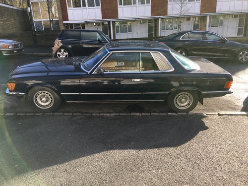 """Barn find"" Mercedes 380 SLC 1982 Auto  SOLD (picture 4 of 6)"