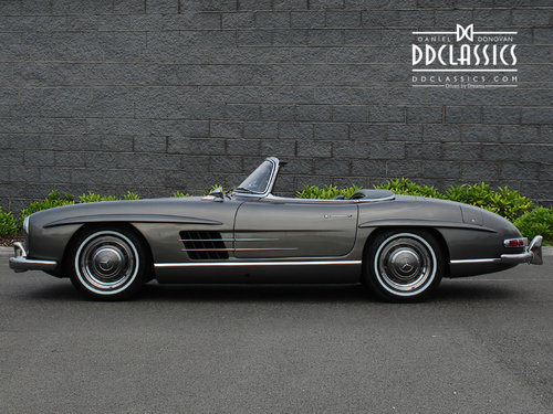 1958 Mercedes-Benz 300 SL Roadster For Sale In London ( LHD  For Sale (picture 2 of 6)