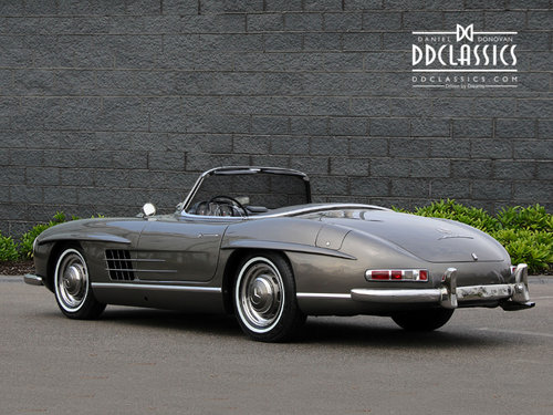 1958 Mercedes-Benz 300 SL Roadster For Sale In London ( LHD  For Sale (picture 3 of 6)