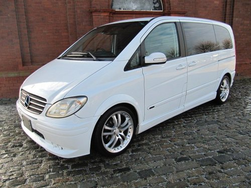 2004 MERCEDES-BENZ VIANO 3.2 BRABUS STYLING KIT & WHEELS  For Sale (picture 1 of 6)