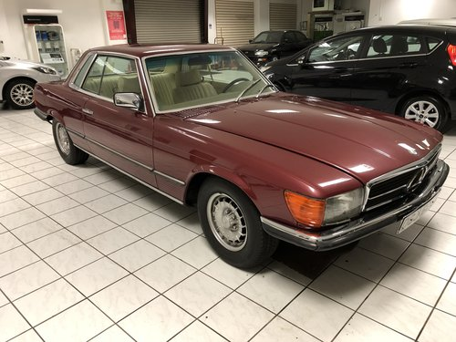 1978 Mercedes 450SLC automatic LHD For Sale (picture 1 of 6)