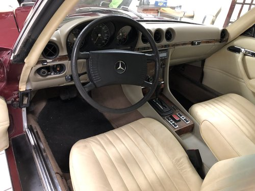 1978 Mercedes 450SLC automatic LHD For Sale (picture 5 of 6)