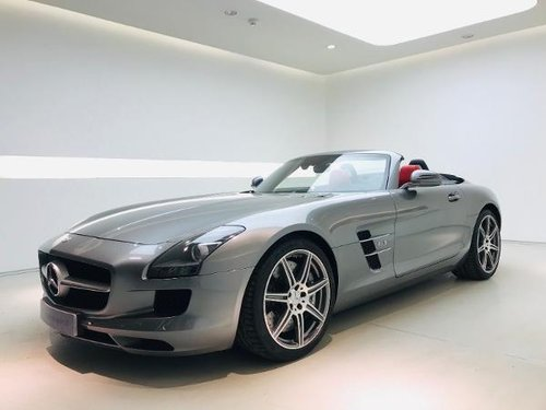 2012 MERCEDES-BENZ SLS ROADSTER 63 AMG SOLD (picture 1 of 6)