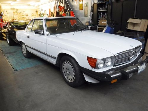 1988 Mercedes 560SL '88 For Sale (picture 1 of 6)