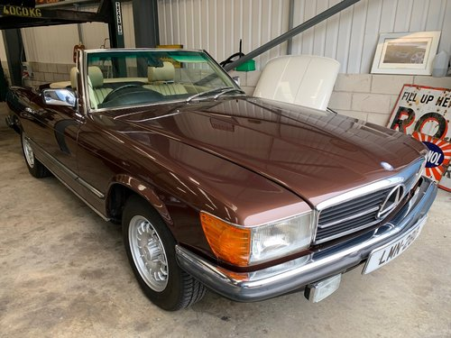 1983 MERCEDES 280SL  SPORTS  W107 For Sale (picture 6 of 6)