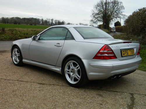 2001 Rare Mercedes SLK 32 AMG 1 of 263 sold in the UK For Sale (picture 1 of 6)