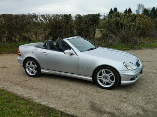 2001 Rare Mercedes SLK 32 AMG 1 of 263 sold in the UK For Sale (picture 2 of 6)
