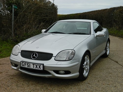 2001 Rare Mercedes SLK 32 AMG 1 of 263 sold in the UK For Sale (picture 3 of 6)