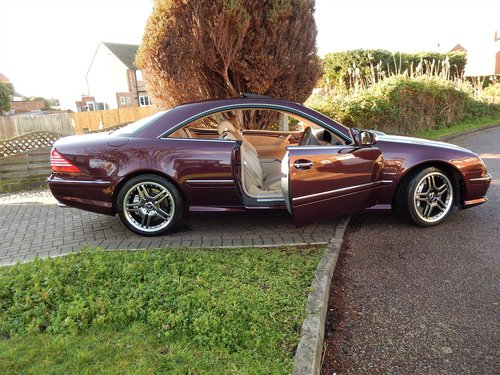 2006 CL65 AMG 6.0 V12 TWIN TURBO -- 1 owner -- f/MB/s/h For Sale (picture 1 of 6)