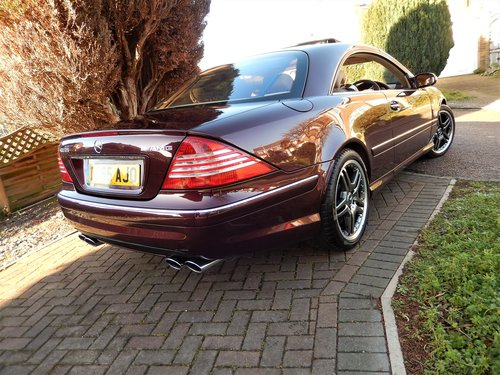 2006 CL65 AMG 6.0 V12 TWIN TURBO -- 1 owner -- f/MB/s/h SOLD (picture 2 of 6)