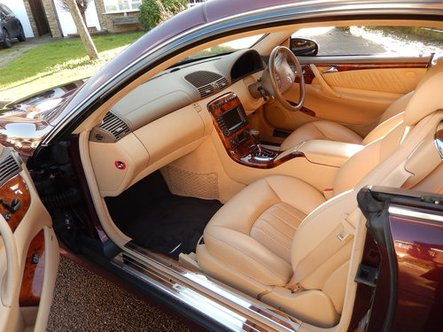 2006 CL65 AMG 6.0 V12 TWIN TURBO -- 1 owner -- f/MB/s/h SOLD (picture 3 of 6)