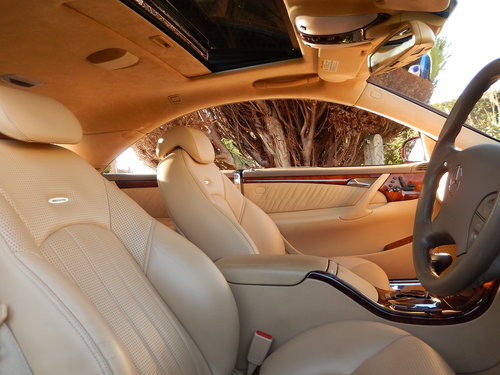 2006 CL65 AMG 6.0 V12 TWIN TURBO -- 1 owner -- f/MB/s/h For Sale (picture 5 of 6)