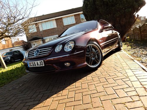 2006 CL65 AMG 6.0 V12 TWIN TURBO -- 1 owner -- f/MB/s/h For Sale (picture 6 of 6)