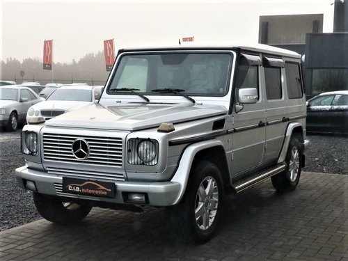 2006 Mercedes-Benz G500L G 500 LWB 57K Miles LHD For Sale (picture 1 of 6)