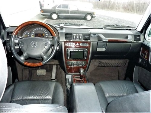 2006 Mercedes-Benz G500L G 500 LWB 57K Miles LHD For Sale (picture 4 of 6)