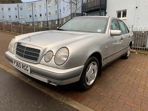 1996 Mercedes E200 Classic A at Morris Leslie Auction 25th May For Sale by Auction (picture 1 of 6)