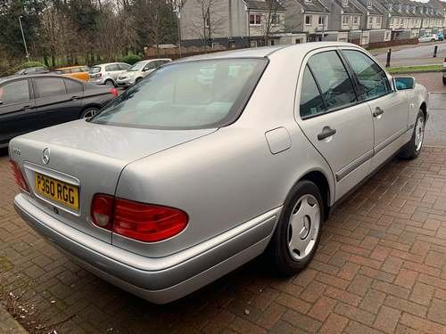 1996 Mercedes E200 Classic A at Morris Leslie Auction 25th May For Sale by Auction (picture 2 of 6)