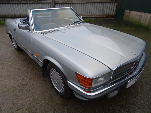 Mercedes 300SL Roadster 3.0 Litre 6 Cyl 1989F For Sale (picture 1 of 6)