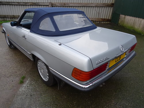 Mercedes 300SL Roadster 3.0 Litre 6 Cyl 1989F For Sale (picture 2 of 6)