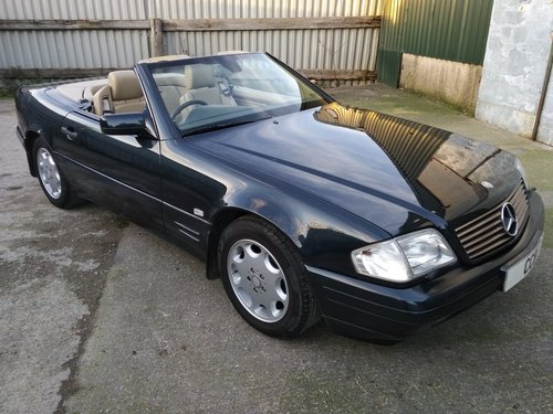 Mercedes SL320 Roadster 3.2 Litre 1996P For Sale (picture 1 of 6)