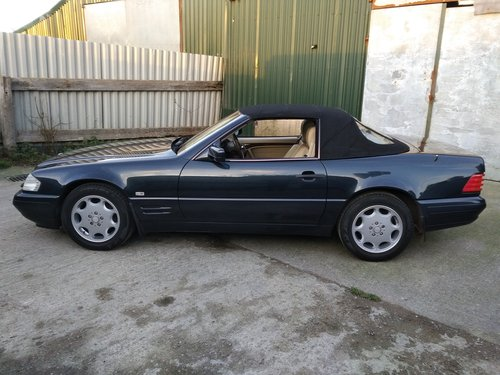 Mercedes SL320 Roadster 3.2 Litre 1996P For Sale (picture 2 of 6)