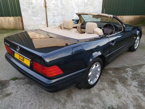 Mercedes SL320 Roadster 3.2 Litre 1996P For Sale (picture 3 of 6)