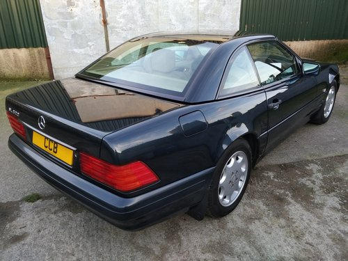 Mercedes SL320 Roadster 3.2 Litre 1996P For Sale (picture 5 of 6)