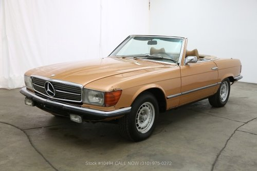 1972 Mercedes-Benz 350SL With 2 Tops For Sale (picture 3 of 6)