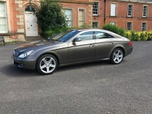 2006 Indium Grey Mercedes CLS 500 4dr Coupe For Sale (picture 2 of 6)