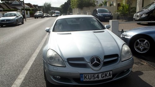 2004 2005 MY V6 SLK AUTO TIPTRONIC SPORTS CONVERTIBLE SOLD (picture 3 of 4)