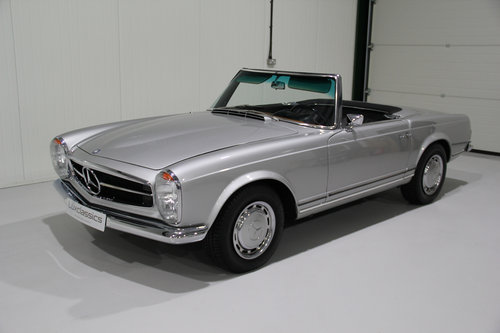 1967 Mercedes Benz 250SL W113 Pagoda Restored For Sale (picture 1 of 6)