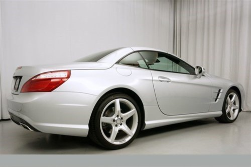 2014 Mercedes SL550 Bi Turbo only 7000 miles For Sale (picture 3 of 5)