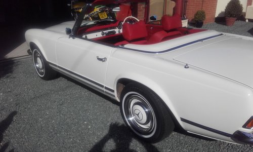 1966 mercedes pagoda nut bolt restoration For Sale (picture 5 of 6)