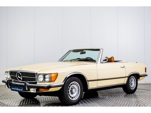 1973 Mercedes 450SL Roadster R107 For Sale (picture 1 of 6)