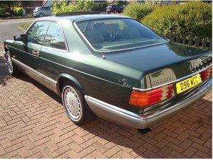 1987 Mercedes 500 sec. For Sale