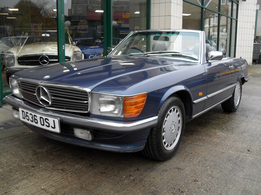 1987 Mercedes Benz 300 SL For Sale (picture 1 of 5)