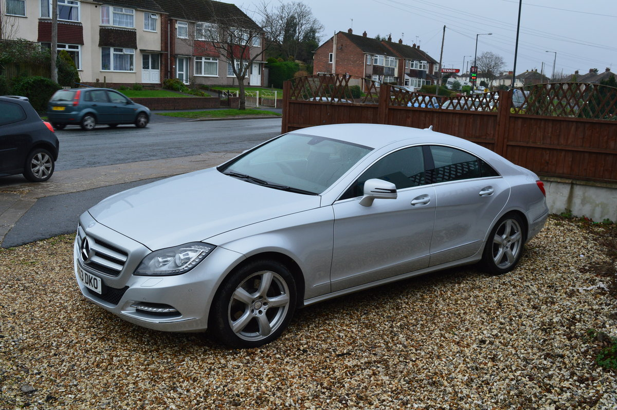 2013 Mercedes-Benz CLS 3.0 CLS350 BlueEFFICIENCY 7G-Tronic Plus For Sale (picture 1 of 6)