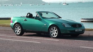 1999 MERCEDES SLK230 KOMPRESSOR SOLD