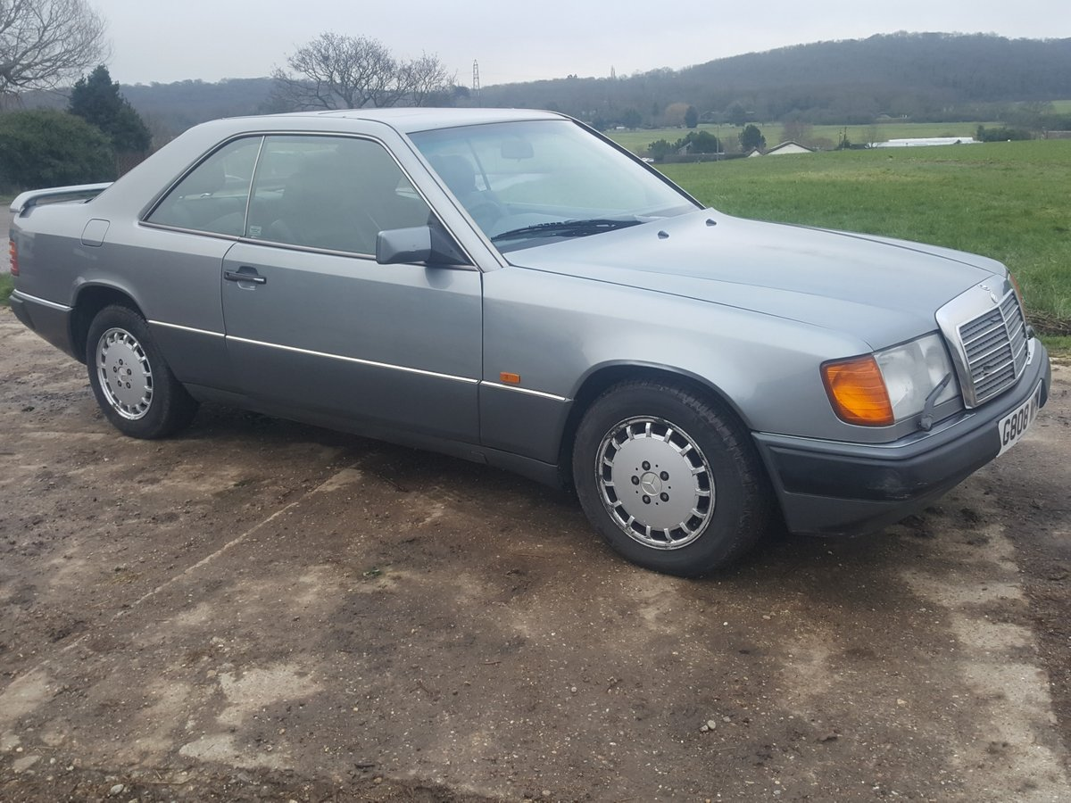 1990 Rare Mercedes 300CE-24 one of the oldest surviving For Sale (picture 1 of 6)