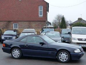 1993 MERCEDES-BENZ SL300 24 VALVE CONVERTIBLE AUTOMATIC - LHD  For Sale